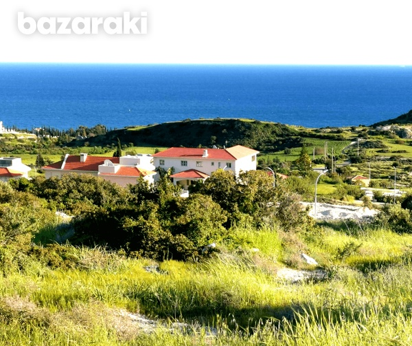 Land in ayios tychonas with unobstructed sea view-6