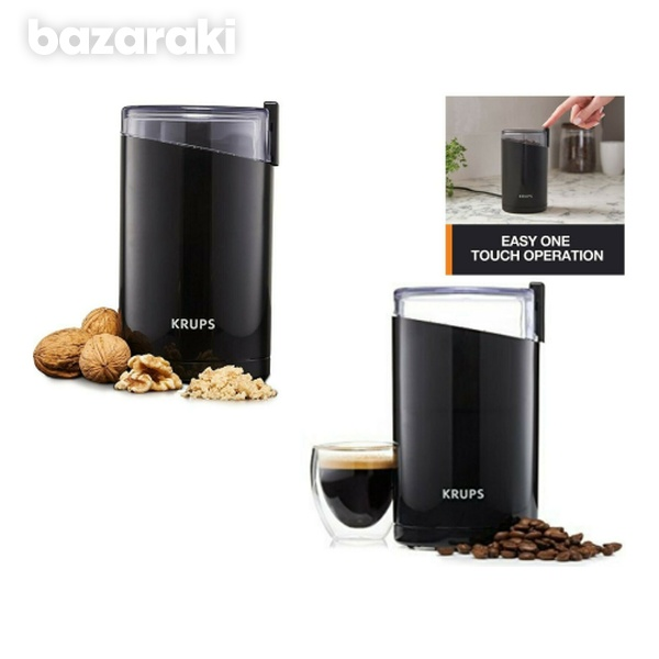 Krups f203 spice and coffee grinder with stainless steel blades-2