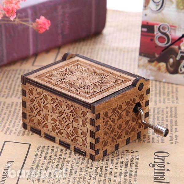 Wooden music box-3