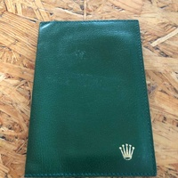 Rolex card/document wallet