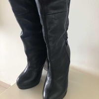 Miss sixty over knee leather boots size 35