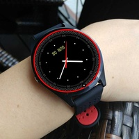 New v9 smart watch with sim card slot camera bluetooth for android ios