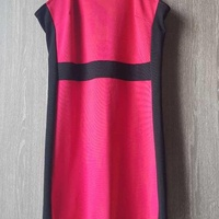 Guess red and black dress. free delivery