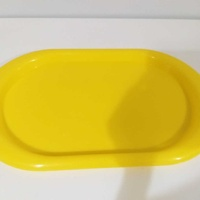 Yellow tray