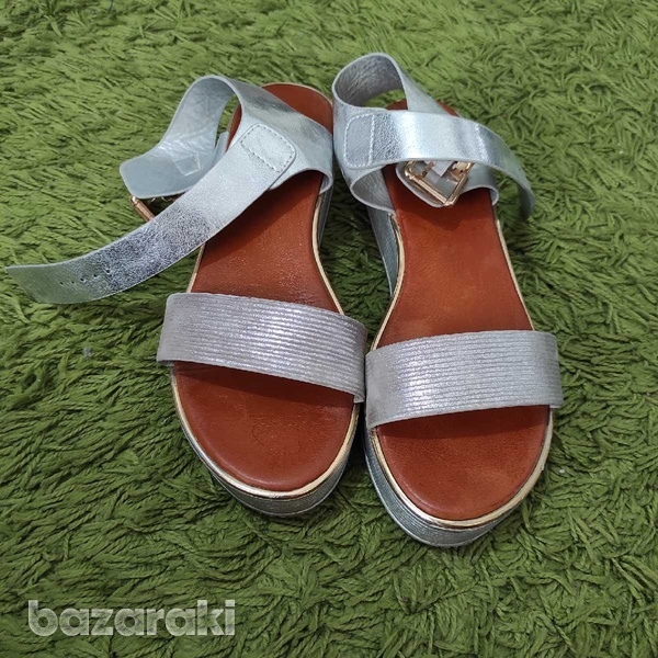 Silver sandals-1