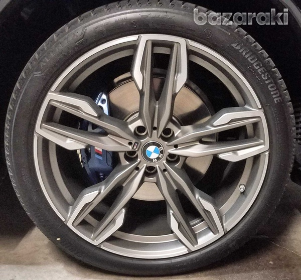 Bmw 718m original 21 inches wheels with runflat tyres for x3/x4-3