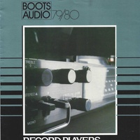 Boots audio 1979 1980 record players and music centers
