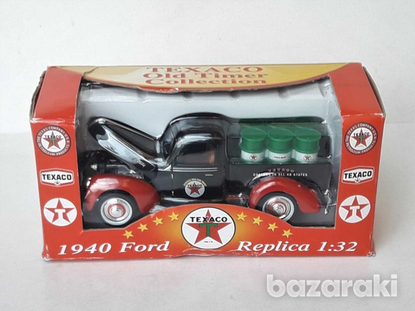 Collectible texaco diecast model 1940 ford old delivery pick up 1/32-2
