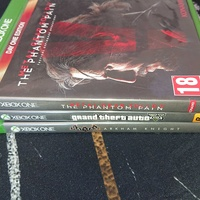 Xbox one games excellent condition
