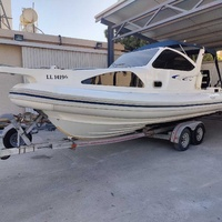 Boat mostro 8m with cabin
