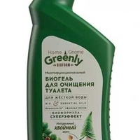 Home gnome greenly universal bio gel for toilet cleaning, evergreen mix