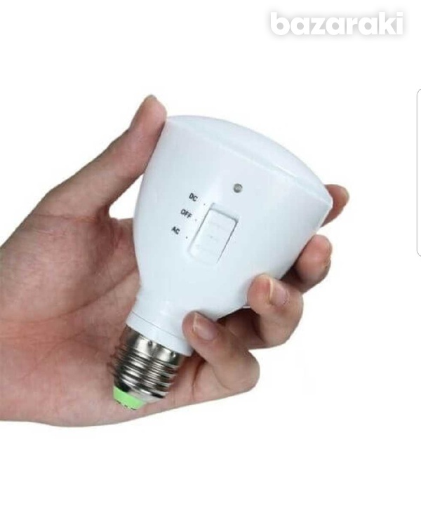 Rechargeable led emergency bulb-1