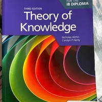 Theory of knowledge ib book