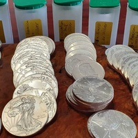 66 x 1 oz 999.9 silver coins bundle