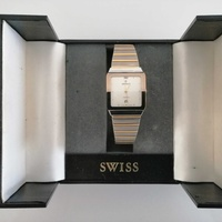 Swiss watch + like new