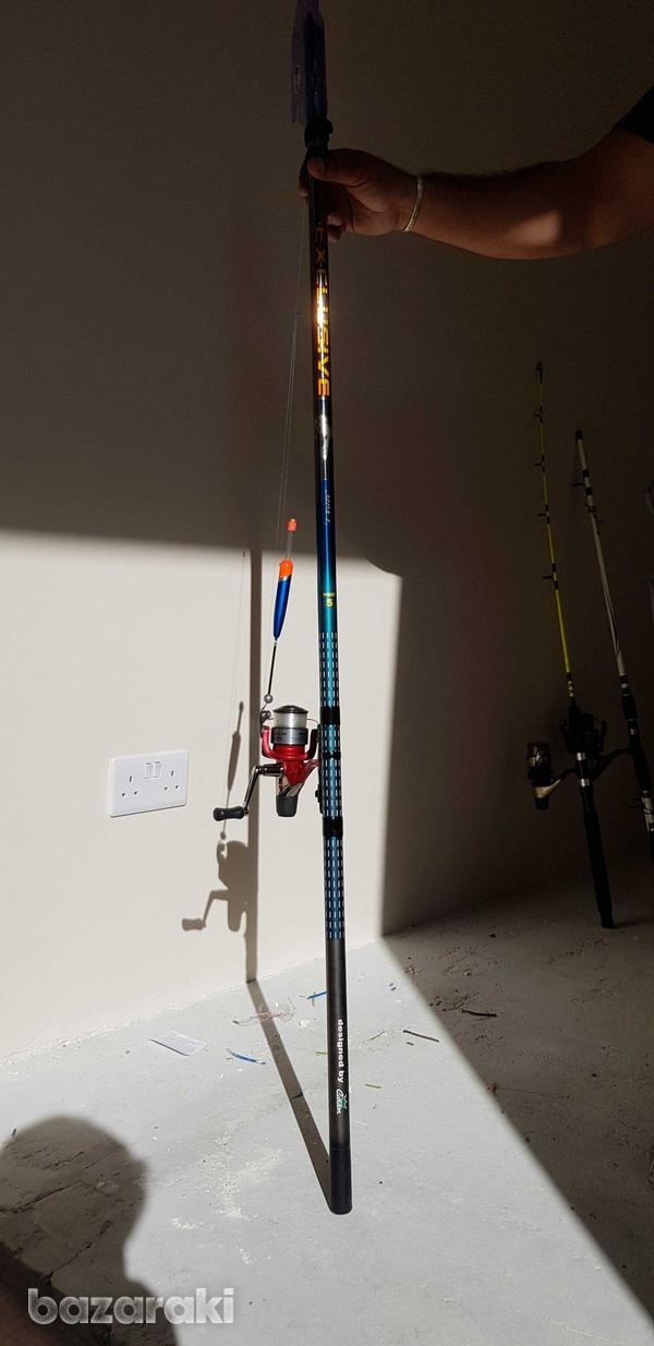 Exclusive fishing rod 5 metres with spinning reel-4
