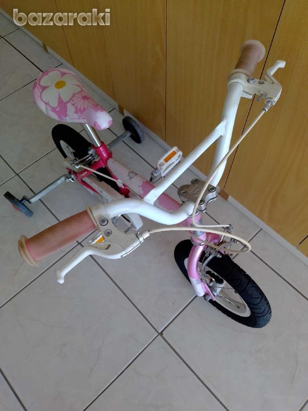 Bicycle for child with side wheels excellent condition like brand new.-6