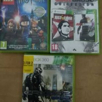 Xbox 360 game 2 cd just cause and another 2 game