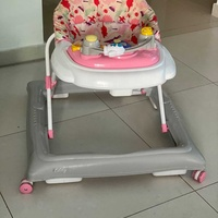 Eddy pink baby girl walker.ιn great condition with 3 levels of high+sounds.only