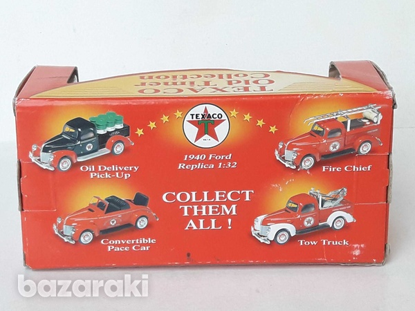 Collectible texaco diecast model 1940 ford old delivery pick up 1/32-4
