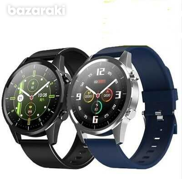 Fitness watch android ios make bluetooth call heart rate blood pressure-9