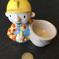 Bob the builder egg holder