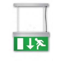New 2w emergency exit light recessed hanging