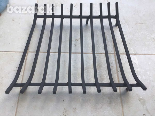 Grate for fireplaces
