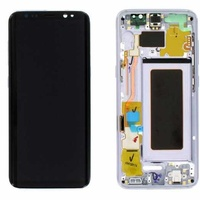Lcd-complete-frame-samsung-s8-g950-orchid-gray-original