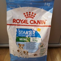 Royal canin mini starter 3kg mother and baby