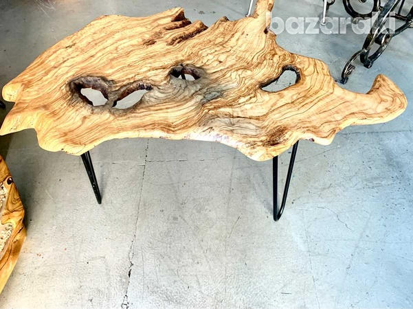 Olive wood tables