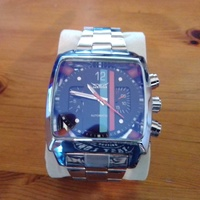 Jaragar automatic watch gulf racing colours