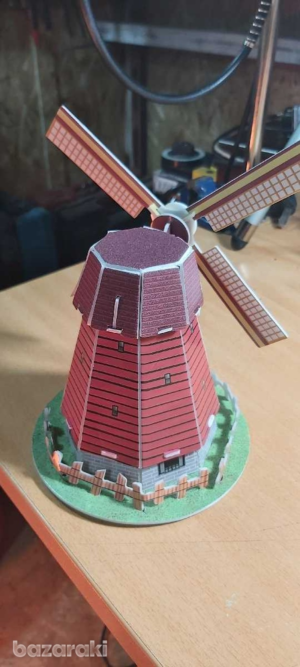 Handmade holland windmill-2