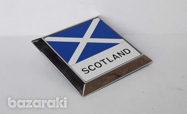 Vintage car badge scotland new never used in very good condition.-3