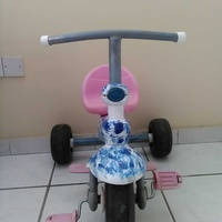 Tricycle child bike is in excellent condition like brand new.