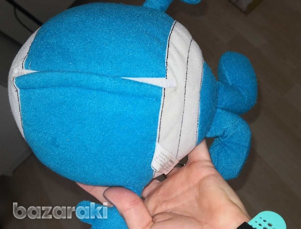 Mr men, mr bump, with recorded message, soft toy-4