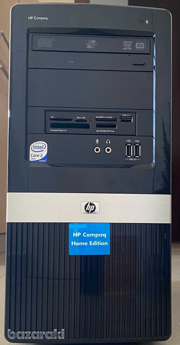 Pc with win 10 /dual core 2.8ghz/500gb disk /3gb ram-1