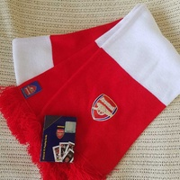 Arsenal official scarf and cards