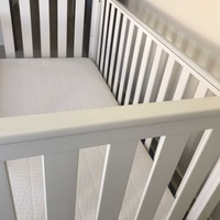 Mothercare jamestown cot plus spring mattress and sheets