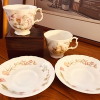 Royal albert jeremy fisher collectoin x2set