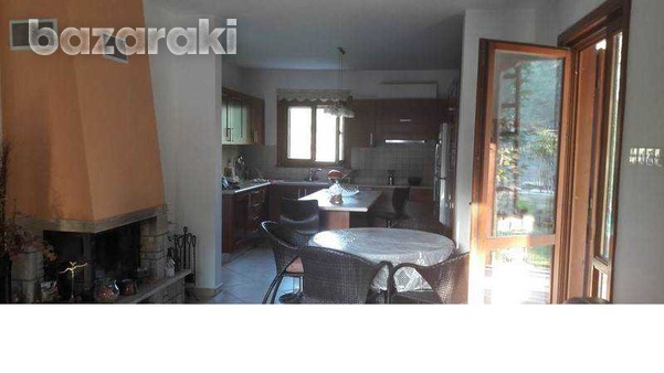 Detached house with big yard, green area, pool,furnished in pyrga-8