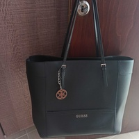 Xlarge black guess tote bag in a very good condition