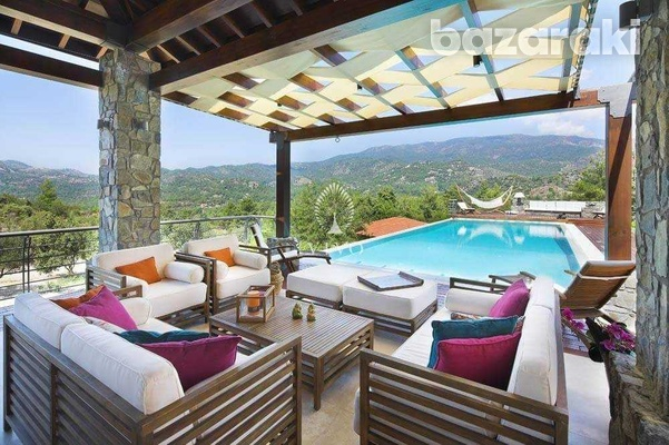 Under construction breathtaking mountain villa with panoramic views-2