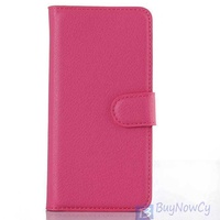 Lg g5 luxury wallet style pu leather case with card holders smart stan