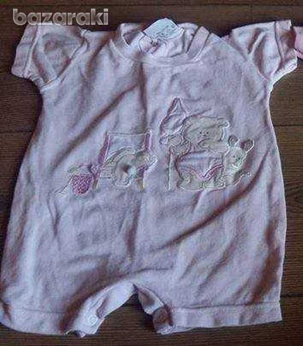 Baby girl sleepsuit vests 0-3 months - three available-2