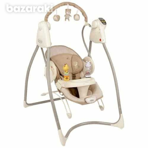 Graco 2-in-1 swing n bounce swing -benny and bell like new condition