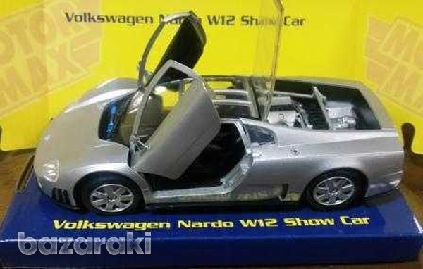 Collectors volkswagen nardo w12 show car 1 24-1