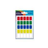 Avery stickers 32 500 various 12 by18 mm 225 rectangular