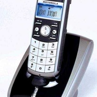 Motorola me 4052-1 cordless phone with hands free function