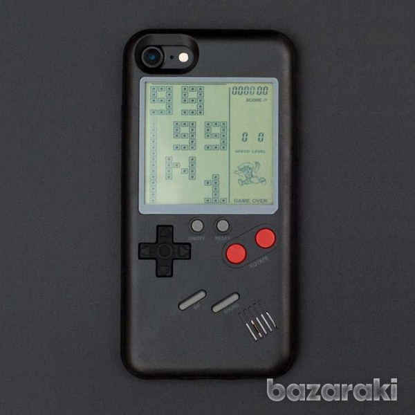 Tetris case for iphone 8 7 6 plus retro game-3